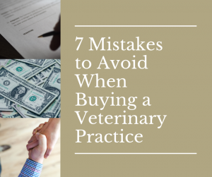 7 Mistakes to Avoid When Buying a Veterinary Practice