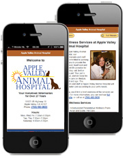 mobile veterinary sites