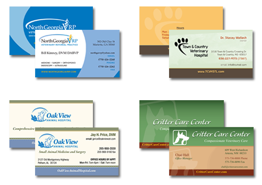 Benefits of a great veterinary hospital business card veterinary veterinary business card colourmoves Gallery