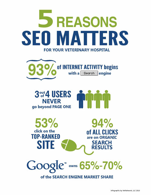 SEO Matters for Your Veterinary Hospital Website