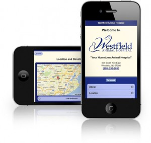veterinary mobile websites