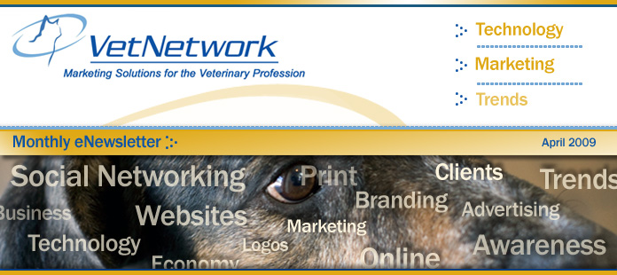 Welcome to VetNetwork's Monthly eNewsletter