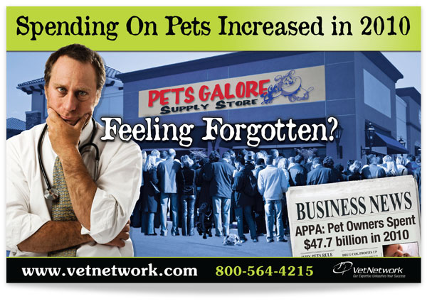 Pet spending is up in 2010
