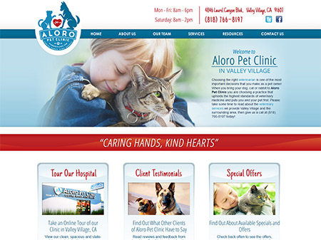 veterinary marketing, vet websites