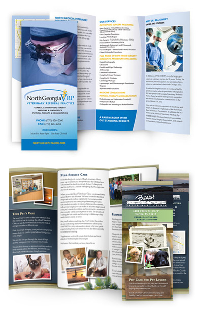 Custom Veterinary Brochures  Pet Hospital Brochure Design