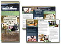 veterinary marketing brochures