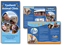 marketing brochure for vet