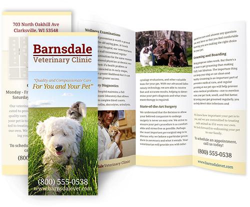 clinic brochure example