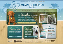 animal hospital websites