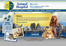 veterinary hospital website