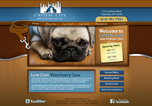 veterinary clinic websites