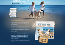 veterinary clinic website