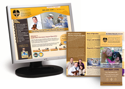 web design for veterinarians