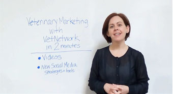 Veterinary Marketing with VetNetwork in 2 Minutes, Pt 1